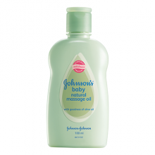 JOHNSON'S® baby natural massage oil