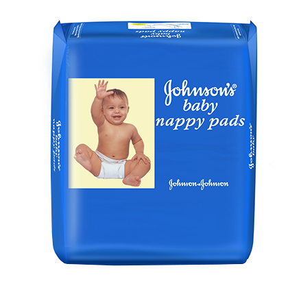 Johnsons Baby Nappy Pads