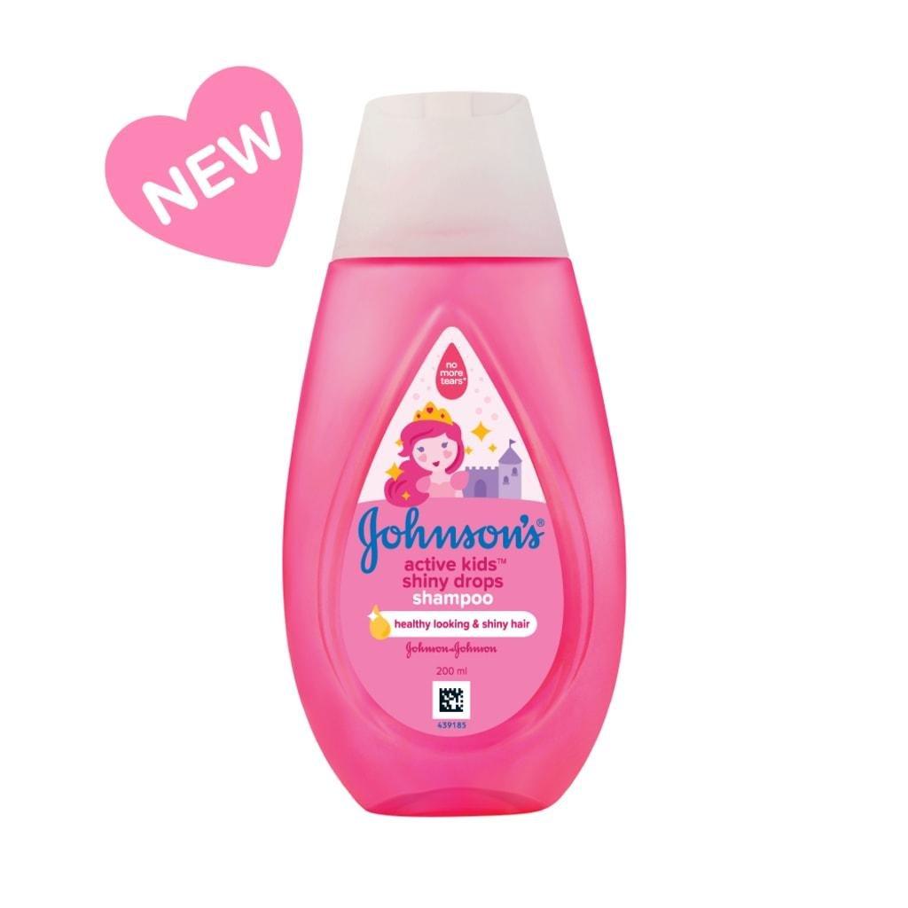Johnsons Baby Shiny Drops Shampoo