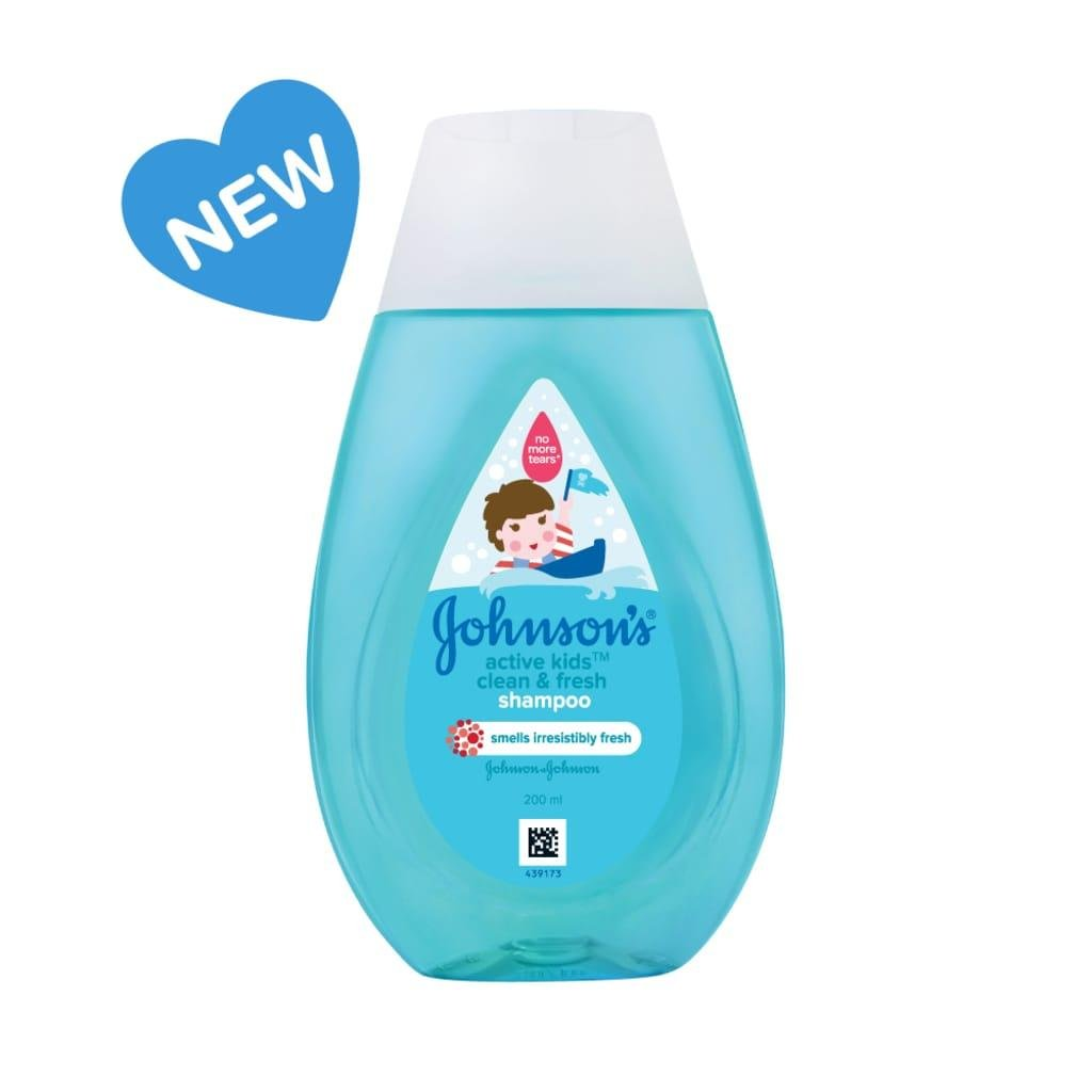 Johnsons Baby Active Kids Shampoo